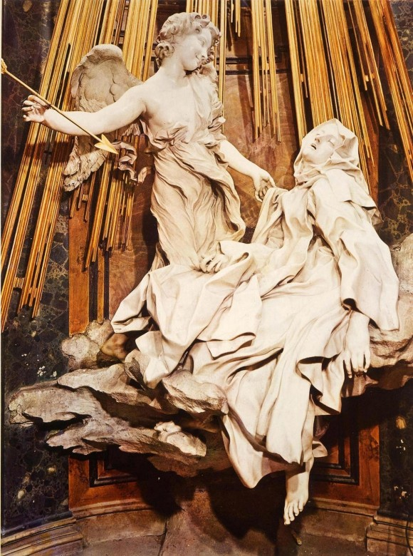 The Ecstasy of Saint Teresa by Gian Lorenzo Bernini