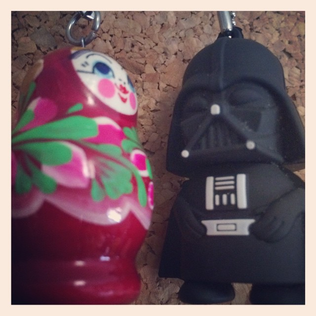 Carol, Darth Vader is saying that he wanna stay here... I don't imagine his motivations... Just telling you...    Матрешка